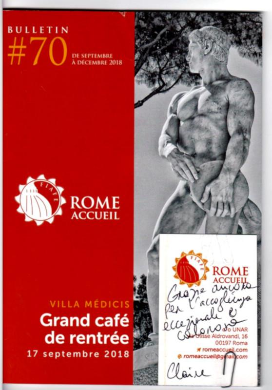 Peppino Capuano ospita Rome Accueil